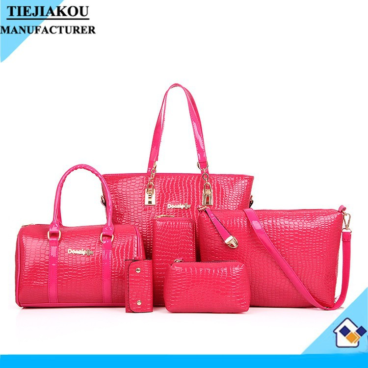 Lady Bags Fashion 2013 wholesale good handbags italian handbags set wholesale for busness women made in china