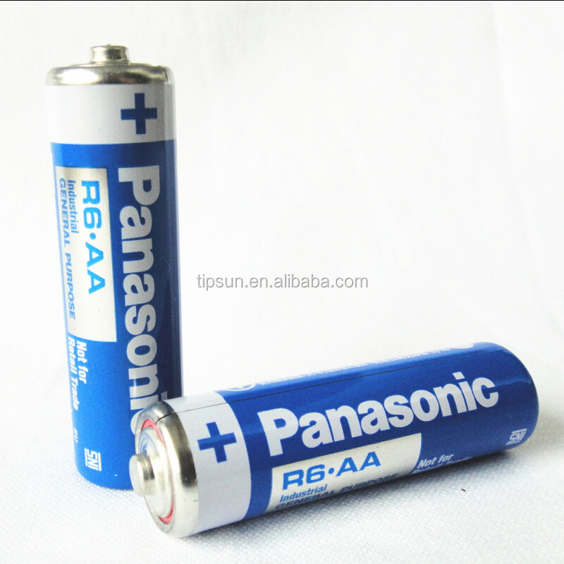 Hot sale Japanese brand 1.5V R6 AA UM-3 carbon zinc battery in blue color