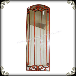High Quality home decoration windows shaped mirrors