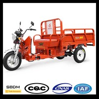 SBDM Diesel Gasoline Engine Passenger Tricycle