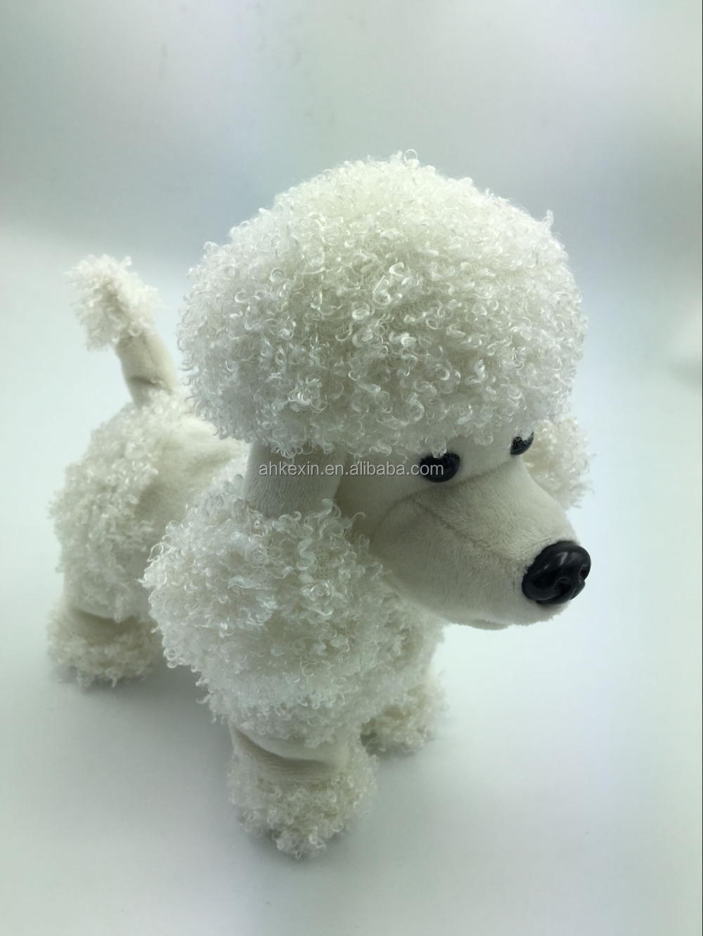 Hot Wholesale Cute Electric Walking Puppy Dog Doll Plush Doll Toy
