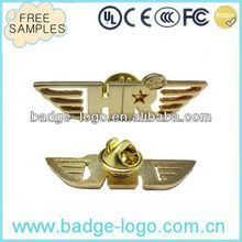 Gold Plated Genesis Wing Badge