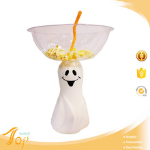 2015 Promotional Halloween Design Bottle Cheap Plastic Tray For Cinema