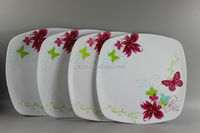 High Quality Melamine Plate Set