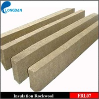 fireproof high density rockwool insulationl lamella