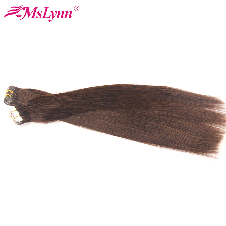 Imported waterproof tape Indian curly tape hair extensions