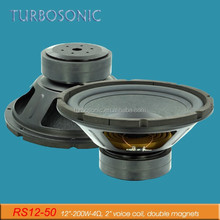 400 W peaker power big subwoofer with rubber edge for vocals