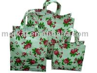 pvc bag factory with 15yeas experience, shopping bag with customer design, handbag