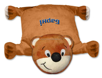 TCCC audity ICTI/SEDEX/BSCI/GSV/GOTS AUDIT factory milka plush pillow bear middle soft toy
