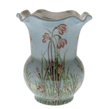 NEW Design Beautiful Crackled Tall Ceramic Vase Classical Style wide mouthed bottle