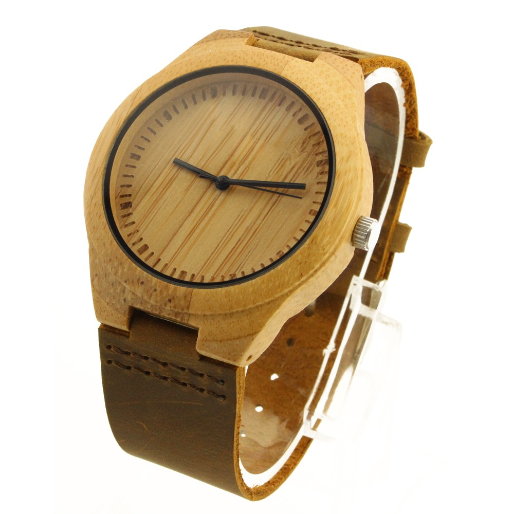 Wood Top Quality Men OEM Luxury Leather Watch List Brands Wholesale Luxury German Watches