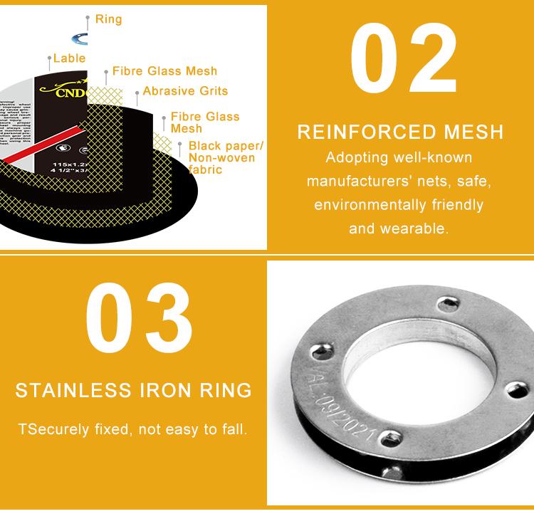 105 abrasive rail bullet cutting wheel abra cutting disc korea