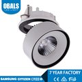 20w Round shape recessed surface mounted downlight cob led chip