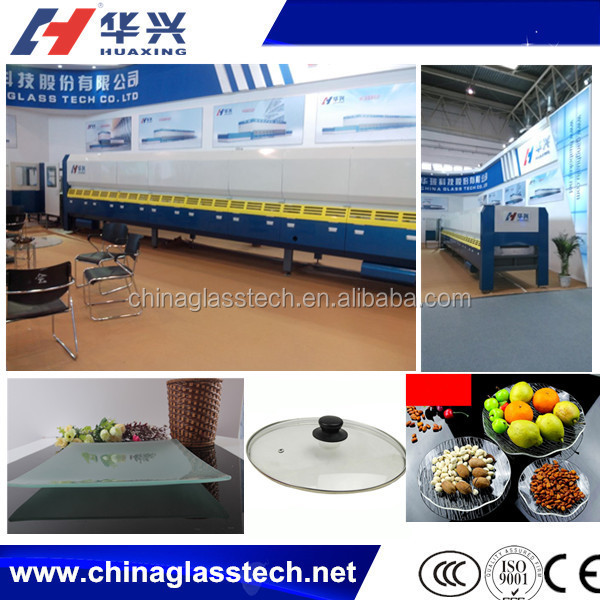Continuous Production Small Tempered Glass Furnace For Sale