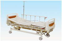 3 crank manual bed hospital bed for patient
