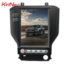Kirinavi WC-FM1016 10.4 inch Vertical screen android 6.0 car dvd player for Ford mustang 2015 + car navigation 2G 32G ROM