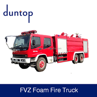 Japan Brand FVZ Foam water Fire Fighting Turck for fire fighting
