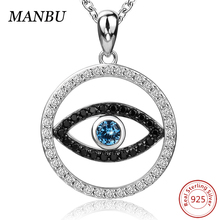 evil eye necklace charm JP22704-P