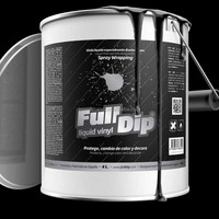 Full Dip removable clear liquid plastic dip rubber paint