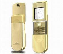 Hot sale mobile phone brand mobile phone 8800 sirocco gold