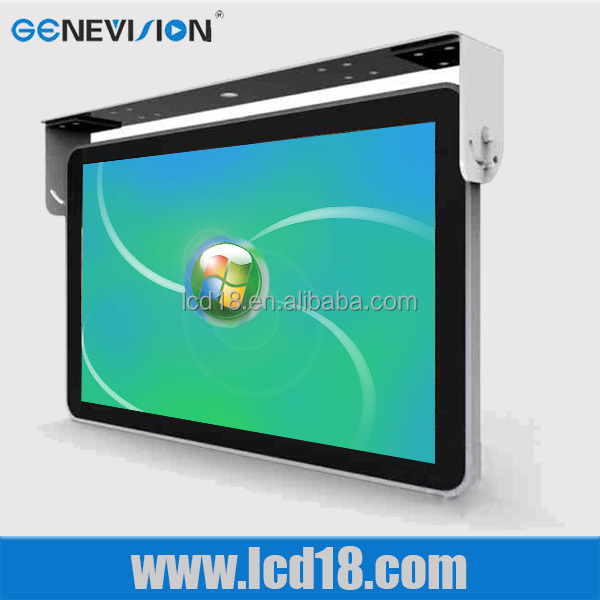 "New Color <strong>Screen</strong> 15""3G/WIFI network digital signage bus TV monitor"