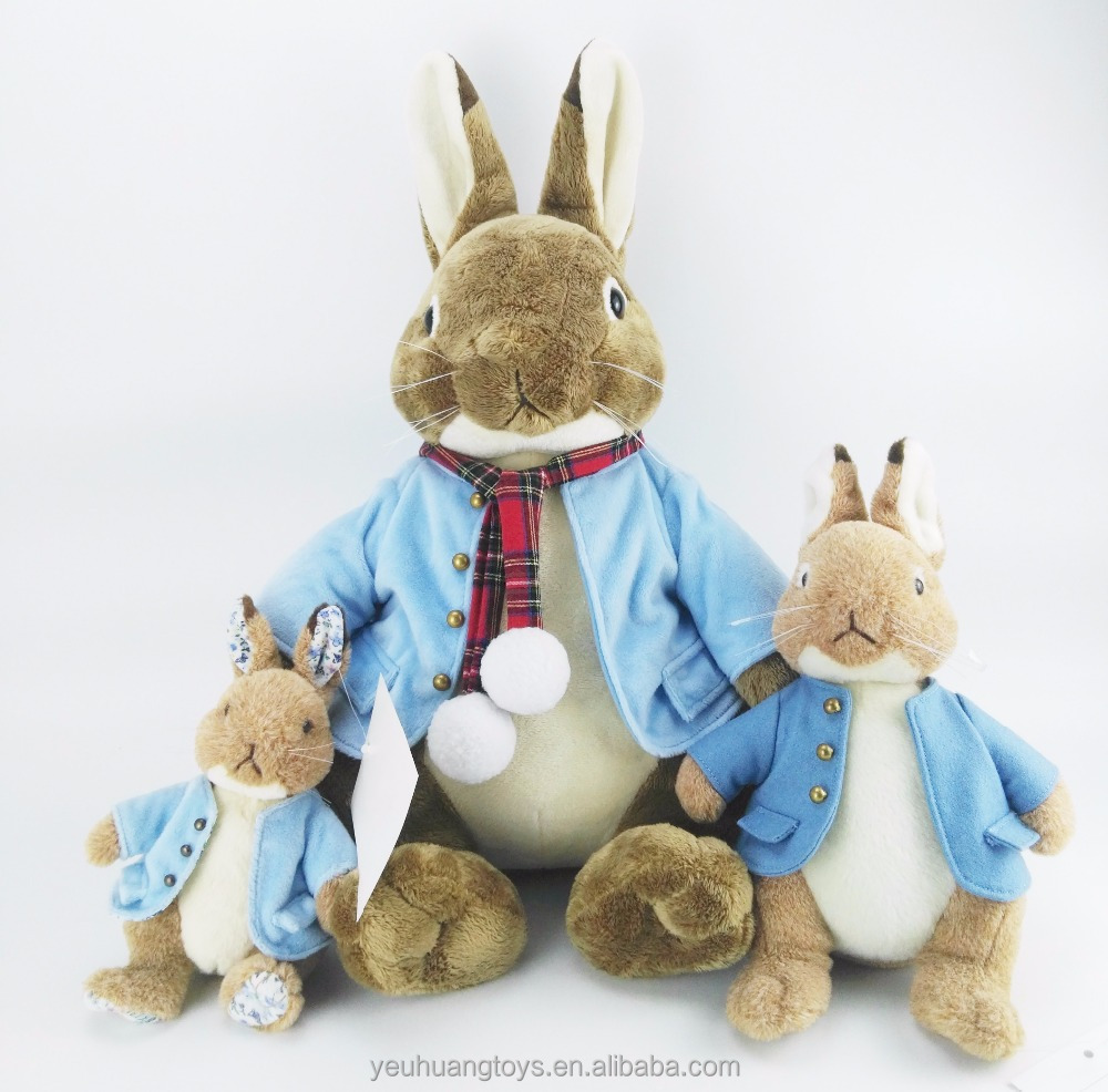 OEM 30 Years Factory Long Ear Stuffed Plush Bunny Peter <strong>Rabbit</strong>