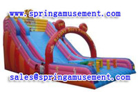 Amusing cheap used inflatable water slides for sale SP-SL030