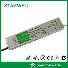 WTF-D24050A Waterproof type constant voltage 24V 50W LED Driver / Switching Power Supply