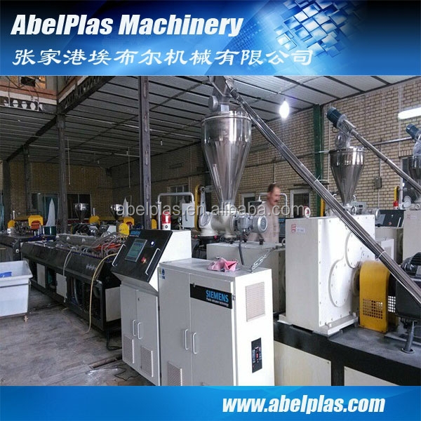 PVC window louver extrusion machine