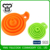 Hot sales portable utensils collapsible silicone canning funnel