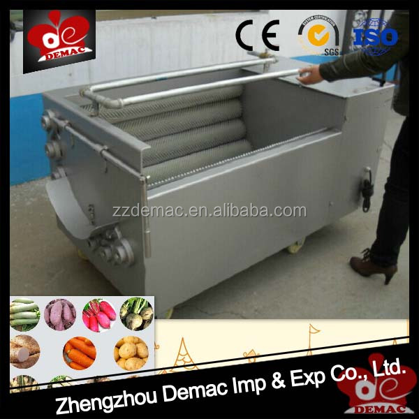 Washing and peeling machine fruit and vegetable washing machine