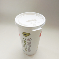2014 china wholesale price 20oz paper coffee cups and lids