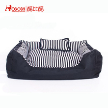Hot selling fashionable oxford small dog beds for sale