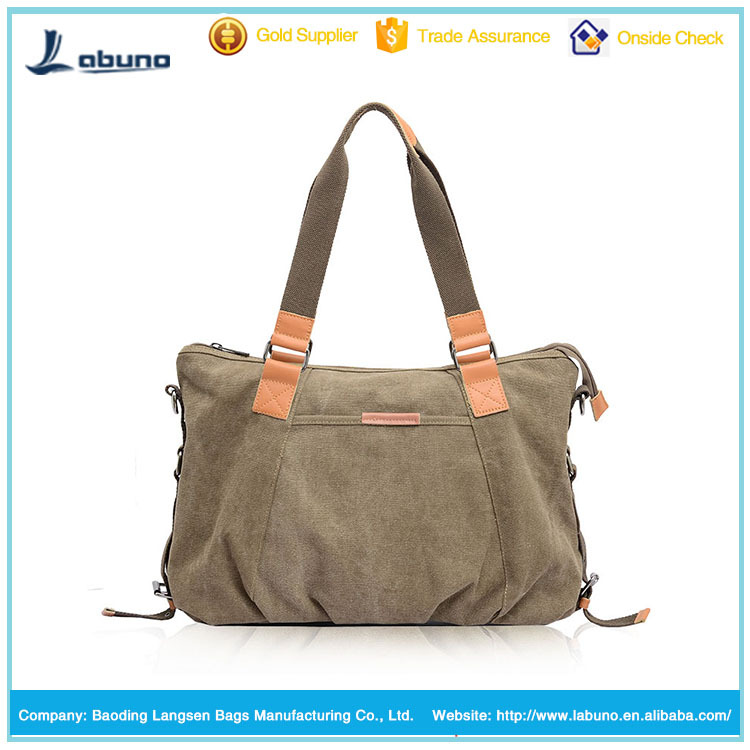European style canvas tote bag canvas shoulder bag hand bags for women