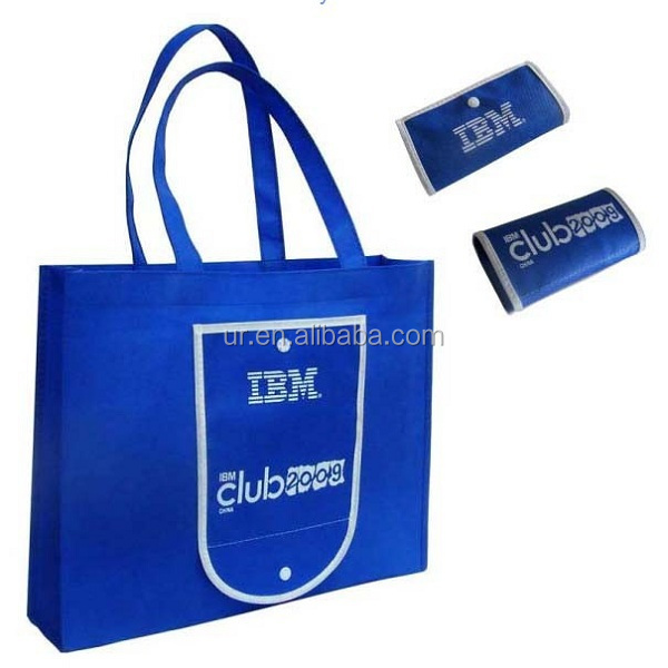 export folding traveling non woven tote bags nice quality shopping bags