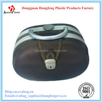 hard shell with aluminium frame EVA cosmetic case with high quality