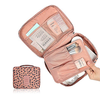 Cosmetic Makeup Bag Toiletry Travel Kit Organizer With Leopard Printing