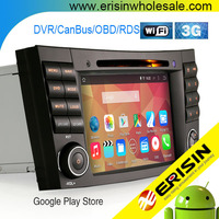 "Erisin ES2501B 7"" Auto Radio 2 Din Car DVD GPS for Mercedes W463"