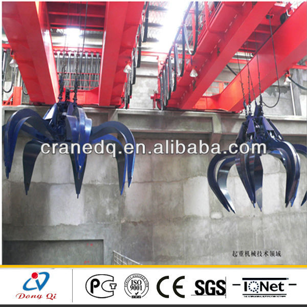 QZ Type 5T-20T Double Beam Electric warehouse crane tools used for mechanical workshop