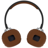 Top Protein Leather Over Ear Headphones