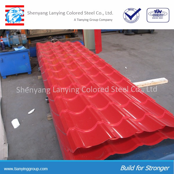 Prepainted corrugated roofing corrugated sheet steel sheet roofing sheet metal for sale