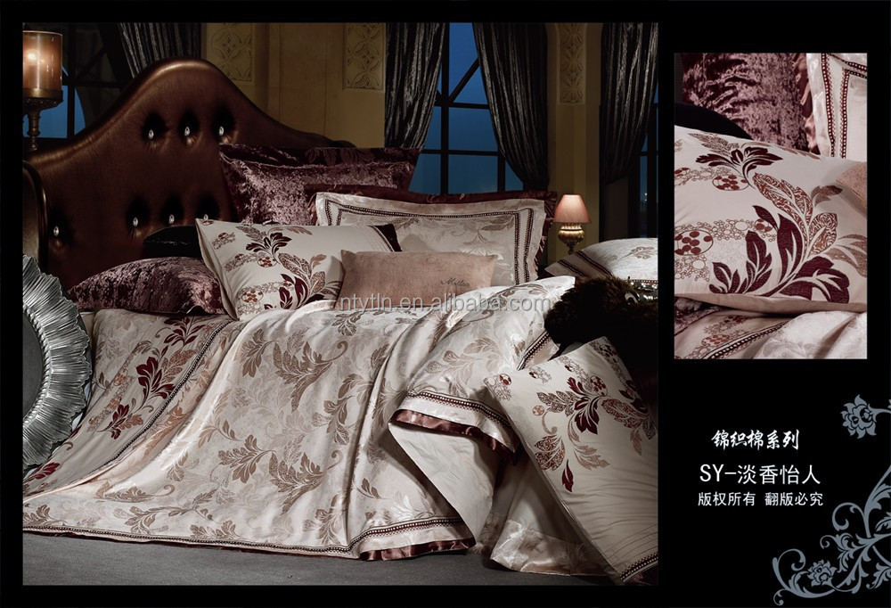 CottonPoly Jacquard Bed Clothes/Bed Linen
