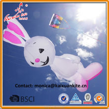 Rabbit line laundry, inflatble kite, large show kite from weifang kite factory.