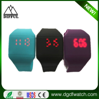 Multi-function colorful Digital Touchscreen LED Watches hot fancy digital wrist watch