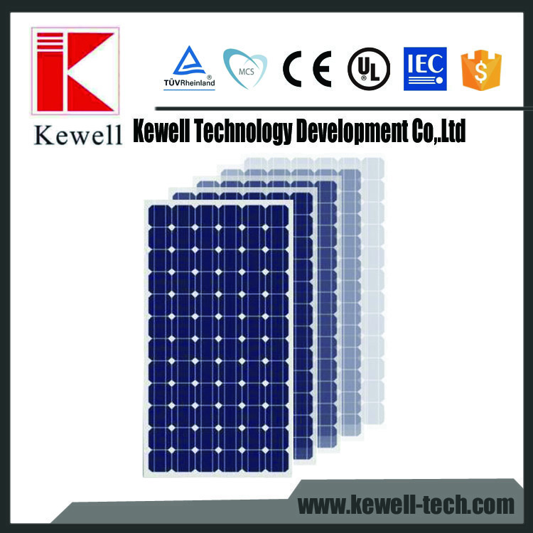 factory photovoltaic system monocrystalline silicon material 250 watt 300w sun power solar panel