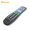 dvd universal remote control codes; 6 IN 1 universal remote control with learning function manufacture