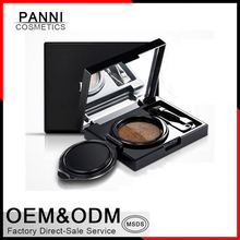 New arrival Private label cosmetics makeup cushion eyebrow with mirror