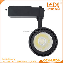 cheap wholesale aluminum 30w 35w cob led track light for clothing shops