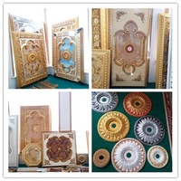 Middle East style t g plastic interior wall decorative panel lowes for homes
