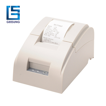 Fashionable mode contracted style 58mm thermal printer